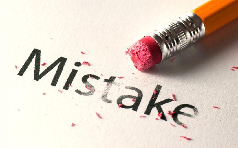 سه اشتباه بزرگ که همه انسانها مرتکب می شوند